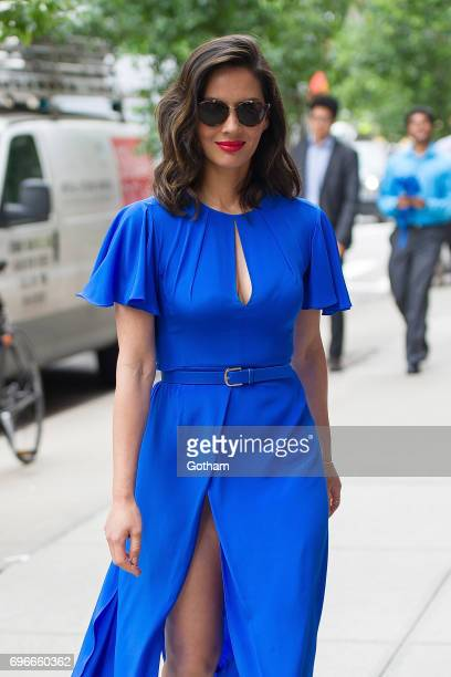 Actress Olivia Munn is seen Tribeca on June 16 2017 in New York City