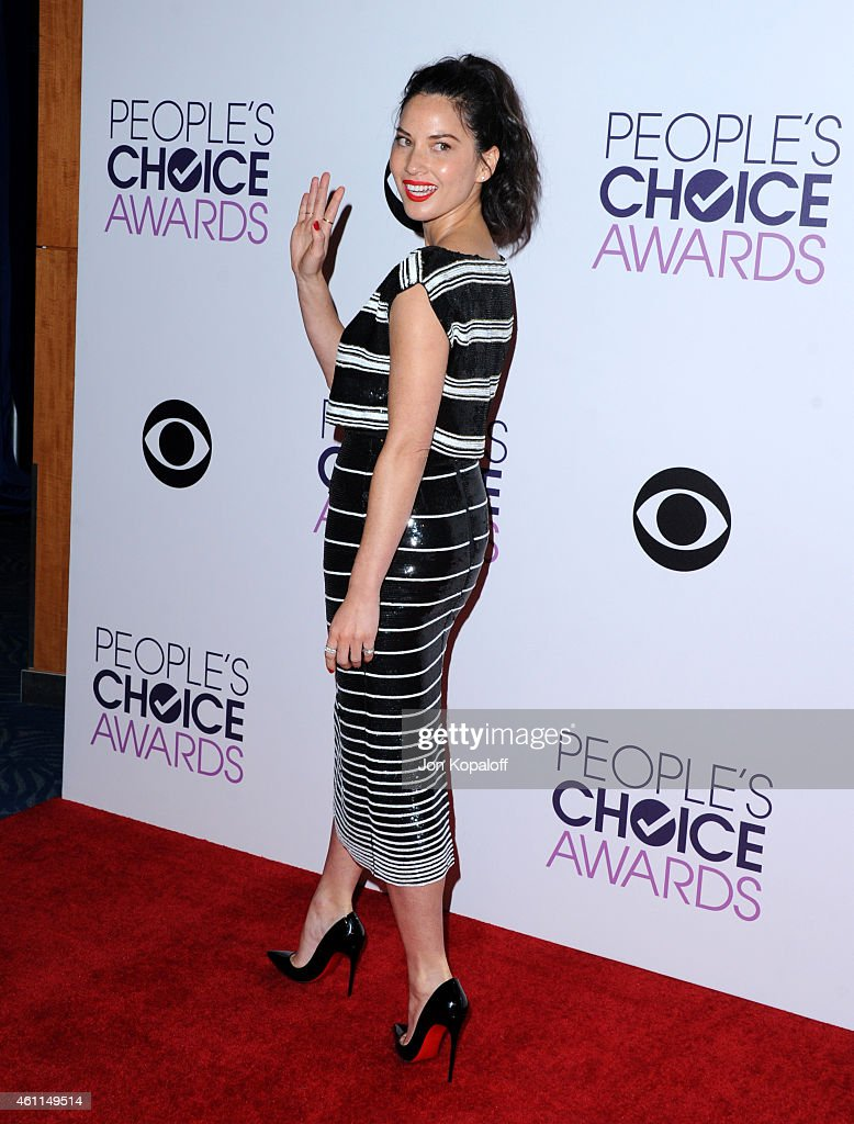 The 41st Annual People's Choice Awards - Press Room : News Photo