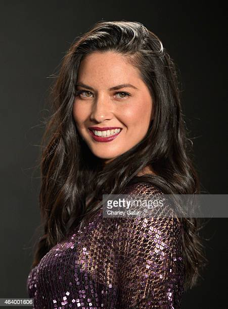 Actress Olivia Munn wearing TOM FORD attends the Tom Ford Autumn/Winter 2015 Womenswear Collection Presentation at Milk Studios in Los Angeles on...
