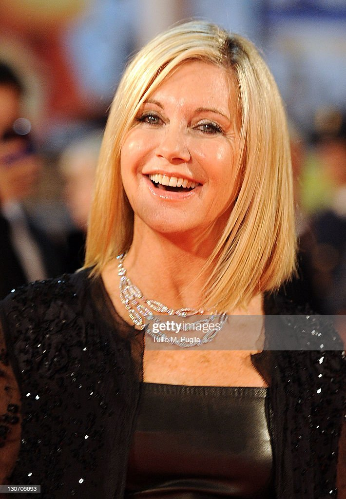 Actress Olivia Newton-John attends the 'A Few Best Man' premiere during the 6th International Rome Film Festival at Auditorium Parco Della Musica on October 28, 2011 in Rome, Italy.