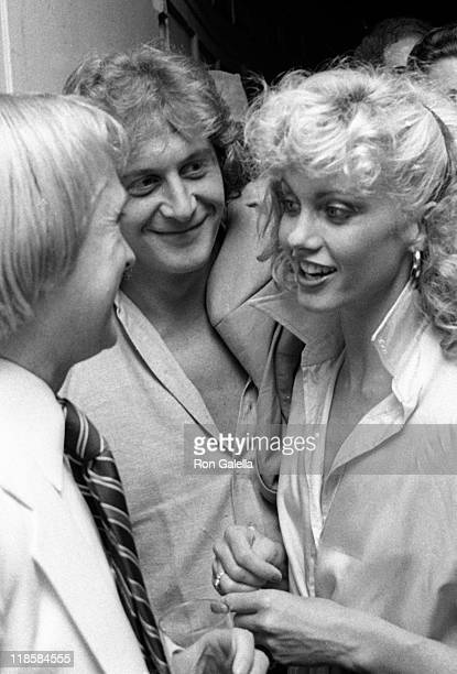 Actress Olivia NewtonJohn attends the premiere party for 'Grease' on June 13 1978 at Studio 54 in New York City