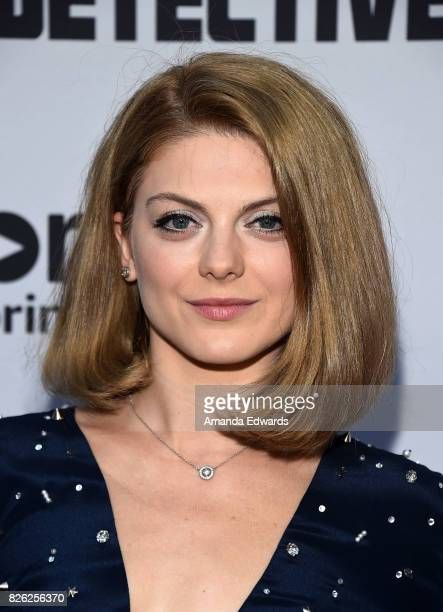 Actress Olivia Nita arrives at the premiere of Amazon's 'Comrade Detective' at the ArcLight Hollywood on August 3 2017 in Hollywood California