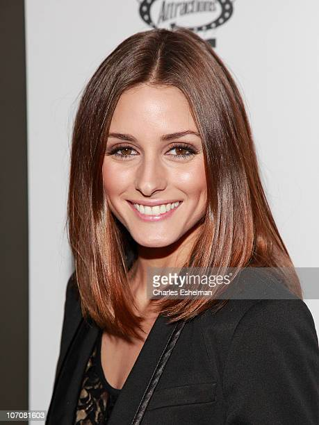 Actress Olivia Palermo attends a special screening of I Love You Phillip Morris hosted by The Cinema Society and DeLeon Tequila at the School of...