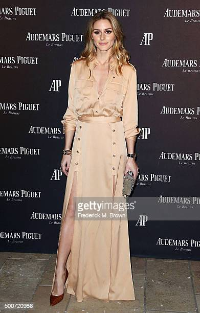 Actress Olivia Palermo attends Audemars Piquet Celebrates Grand Opening of Rodeo Drive Boutique on December 9 2015 in Beverly Hills California