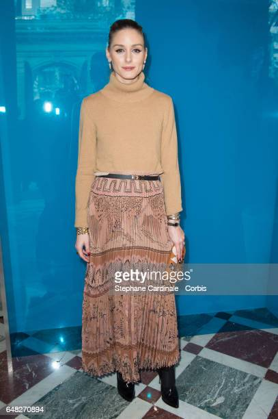 Actress Olivia Palermo attends the Valentino show as part of the Paris Fashion Week Womenswear Fall/Winter 2017/2018 on March 5 2017 in Paris France