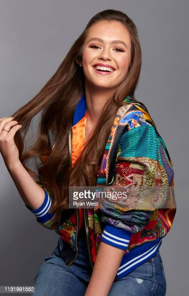 Actress Olivia Sanabia is photographed on September 17 2018 in Los Angeles California