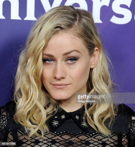 Actress Olivia Taylor Dudley arrives at the 2017 NBCUniversal Winter Press Tour Day 1 at Langham Hotel on January 17 2017 in Pasadena California