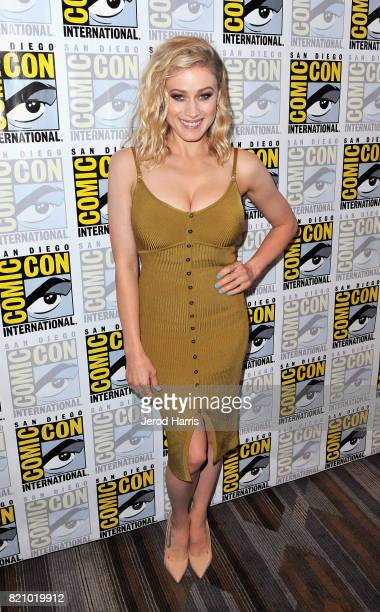 Actress Olivia Taylor Dudley at The Magicians Press Line during ComicCon International 2017 at Hilton Bayfront on July 22 2017 in San Diego California