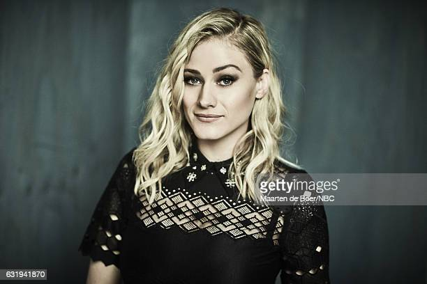 Actress Olivia Taylor Dudley of 'The Magicians' poses for a portrait in the NBCUniversal Press Tour portrait studio at The Langham Huntington...