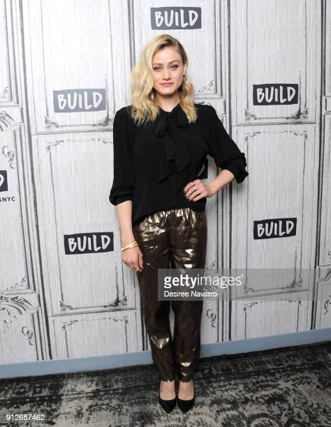 Actress Olivia Taylor Dudley visits Build Series to discuss the TV series 'The Magicians' at Build Studio on January 31 2018 in New York City