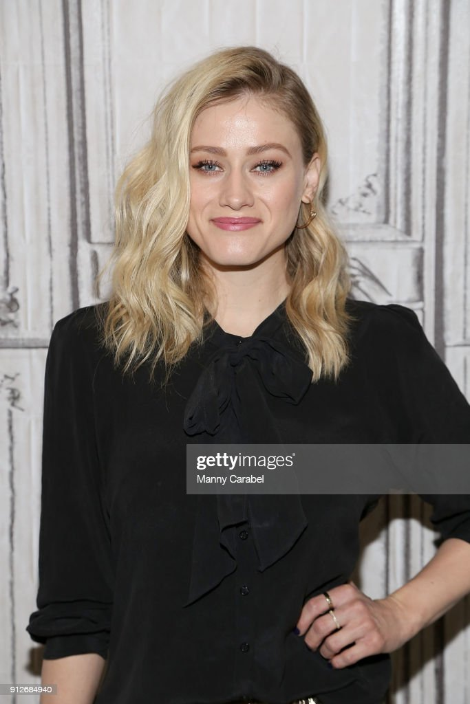 Actress Olivia Taylor Dudley visits the Build Series at Build Studio on January 31, 2018 in New York City.