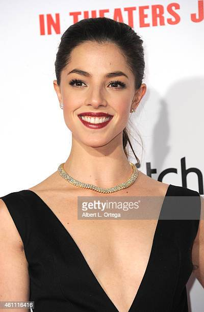 Actress Olivia Thirlby arrives for the Premiere Of Screen Gems' 'The Wedding Ringer' held at TCL Chinese Theatre on January 6 2015 in Hollywood...