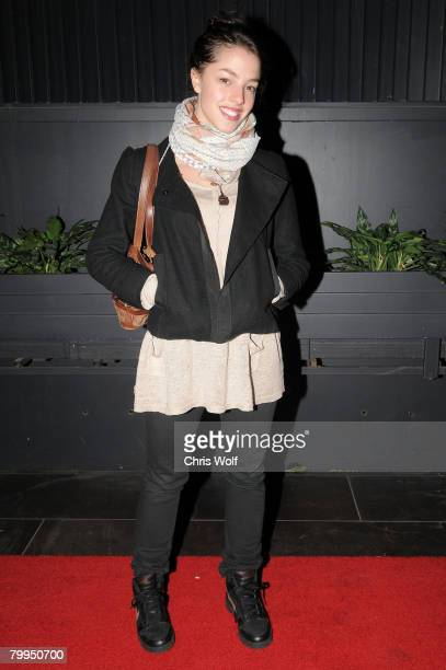Actress Olivia Thirlby at STK LA on February 22 2008 in Los Angeles California