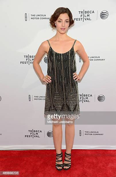 Actress Olivia Thirlby attends the 5 To 7 Premiere during the 2014 Tribeca Film Festival at the SVA Theater on April 19 2014 in New York City