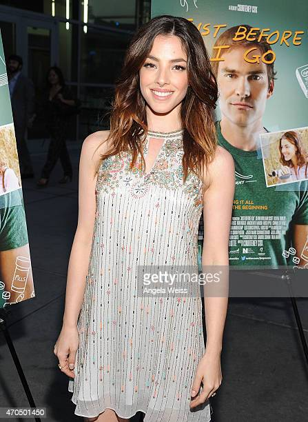 Actress Olivia Thirlby attends the Los Angeles Special Screening of Just Before I Go at ArcLight Hollywood on April 20 2015 in Hollywood California