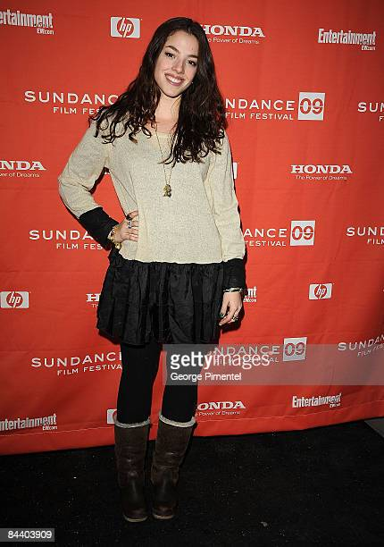 Actress Olivia Thirlby attends the premiere of An Education during the 2009 Sundance Film Festival at the Eccles Theatre on January 18 2009 in Park...