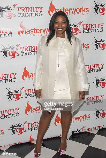 Actress Olivia Washington attends The Glass Menagerie Opening Night After Party at Bourbon Street on May 14 2015 in New York City