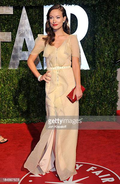 Actress Olivia Wilde arrives at the 2010 Vanity Fair Oscar Party held at Sunset Tower on March 7 2010 in West Hollywood California