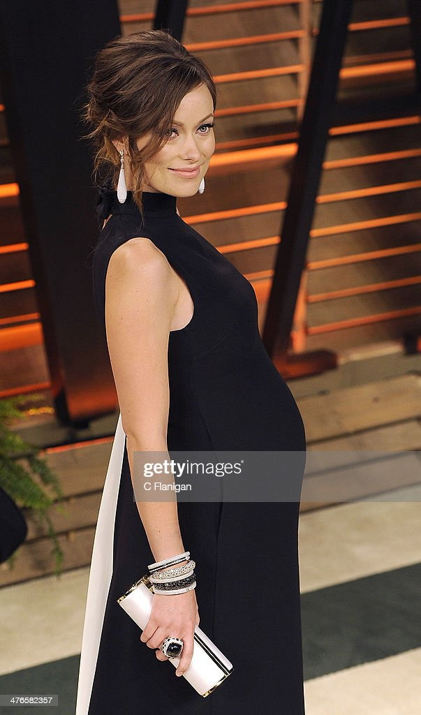 Actress Olivia Wilde arrives at the 2014 Vanity Fair Oscar Party Hosted By Graydon Carter on March 2, 2014 in West Hollywood, California.