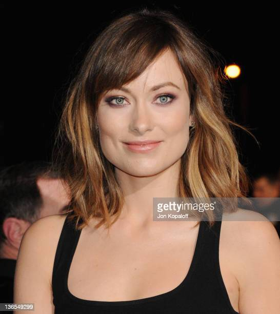 Actress Olivia Wilde arrives at the 23rd Annual Palm Springs International Film Festival Awards Gala at Palm Springs Convention Center on January 7...