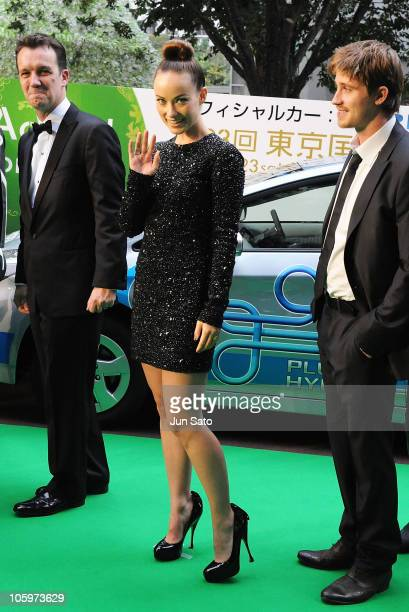 Actress Olivia Wilde arrives at the 23rd Tokyo International Film Festival Opening Ceremony at Roppongi Hills on October 23 2010 in Tokyo Japan