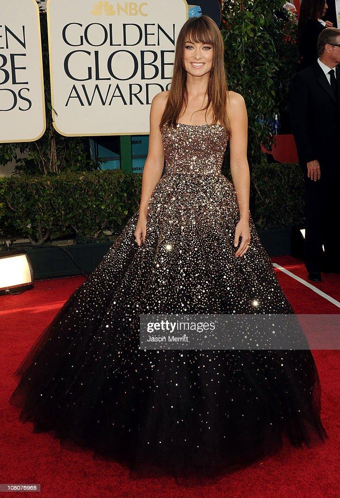 68th Annual Golden Globe Awards - Arrivals : Nachrichtenfoto