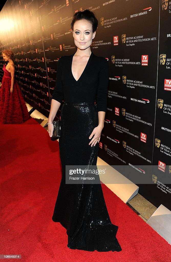 Actress Olivia Wilde arrives at the BAFTA Los Angeles 2010 Britannia Awards held at the Hyatt Regency Century Plaza on November 4, 2010 in Century City, California. The BAFTA Los Angeles 2010 Brittania Awards will be aired on the TV Guide Channel on November 7th, 2010.