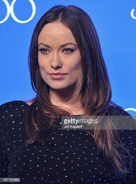 Actress Olivia Wilde arrives at the Jimmy Choo for HM Collection private event in support of the Motion Picture Television Fund on November 2 2009 in...