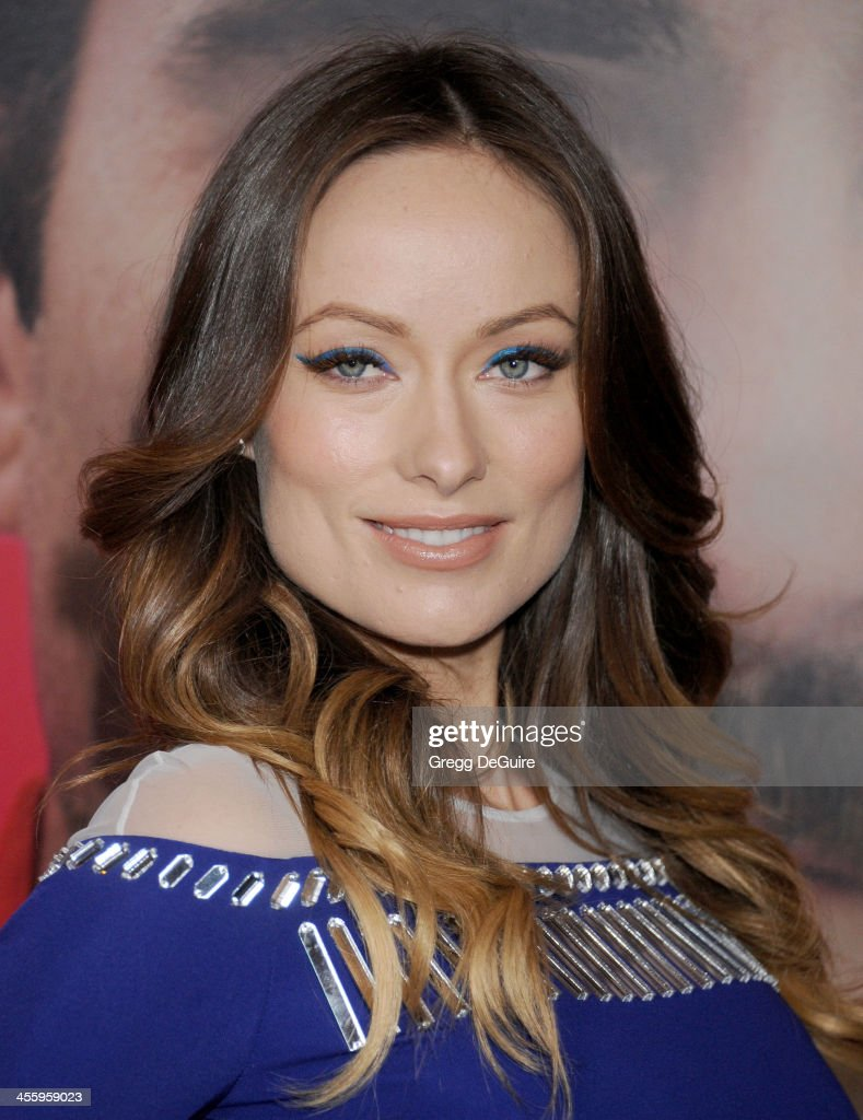 Actress Olivia Wilde arrives at the Los Angeles premiere of 'Her' at Directors Guild Of America on December 12, 2013 in Los Angeles, California.