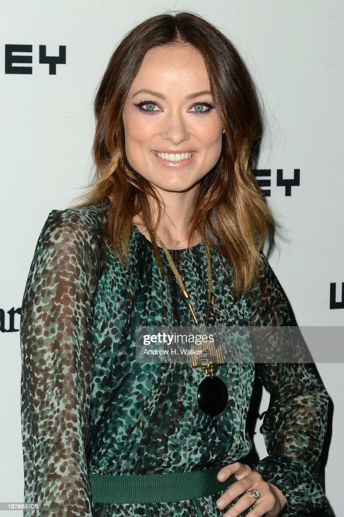 Actress Olivia Wilde arrives at the Whitney Museum Annual Art Party on May 1, 2013 in New York City.