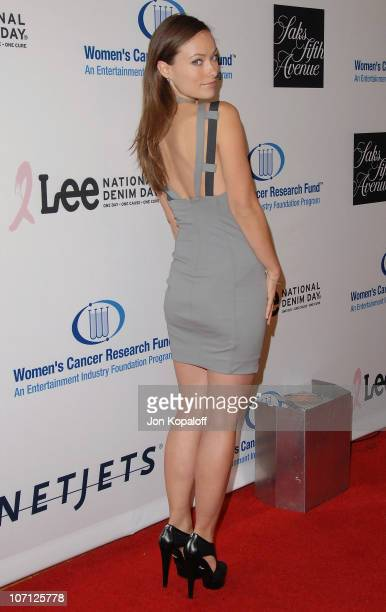 Actress Olivia Wilde arrives to the EIF's Women's Cancer Research Fund Hosts An Unforgettable Evening Benefit at the Beverly Wilshire Four Seasons...