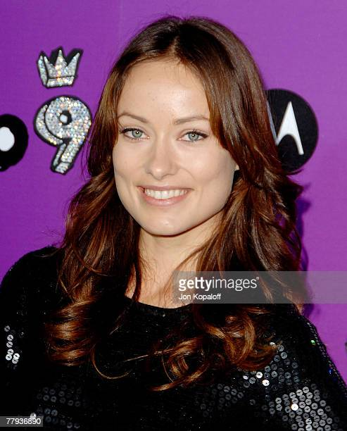 Actress Olivia Wilde arrives to the Motorola 9th Anniversary Party at The Lot on November 8 2007 in West Hollywood California