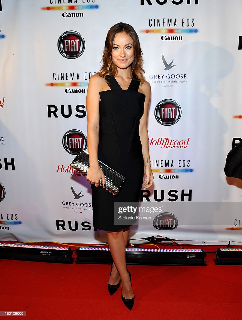Actress Olivia Wilde at the Grey Goose vodka co-hosted party for 'Rush' on September 8, 2013 in Toronto, Canada.