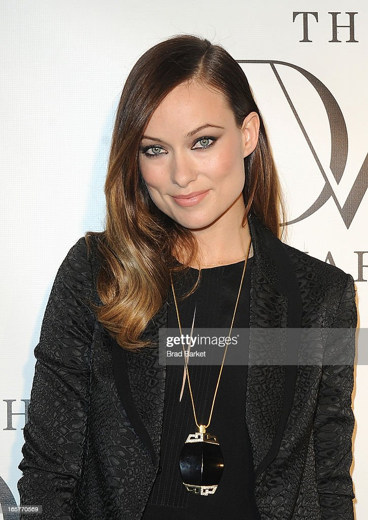 Actress Olivia Wilde attends 2013 DVF Awards at United Nations on April 5, 2013 in New York City.