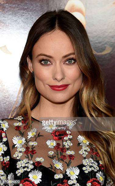 Actress Olivia Wilde attends 'Race' New York Screening at Landmark's Sunshine Cinema on February 17 2016 in New York City