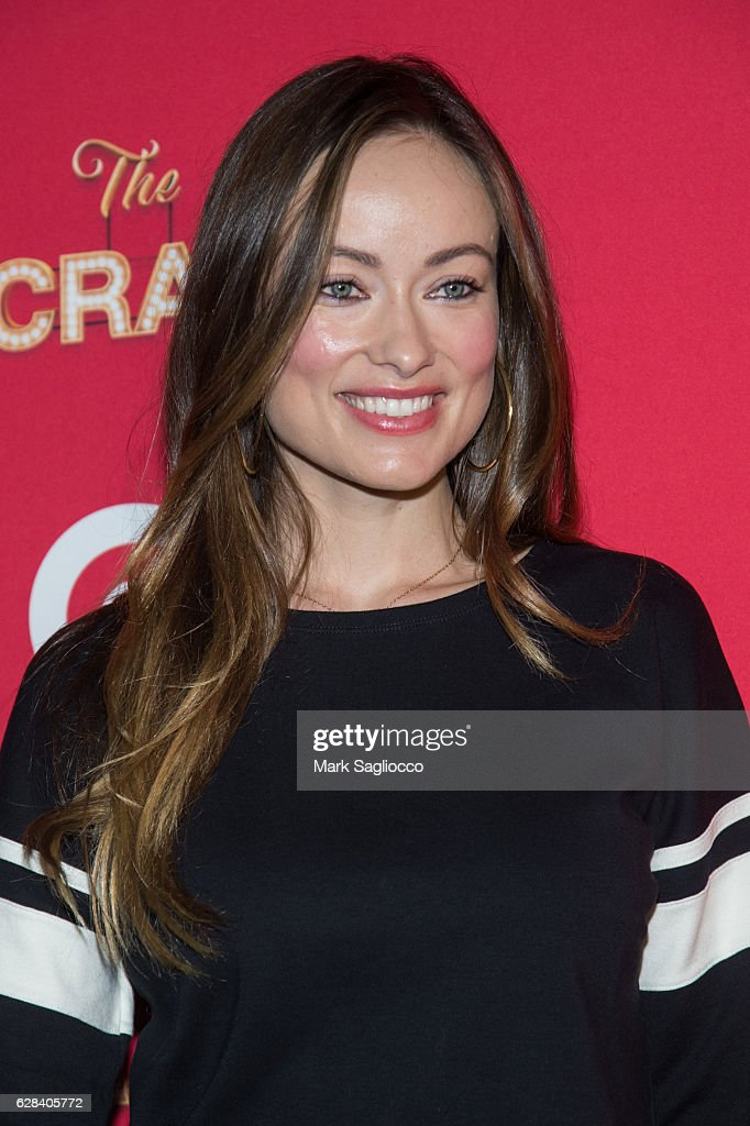 Actress Olivia Wilde attends Target's Toycracker Premiere Event at Spring Studios on December 7, 2016 in New York City.