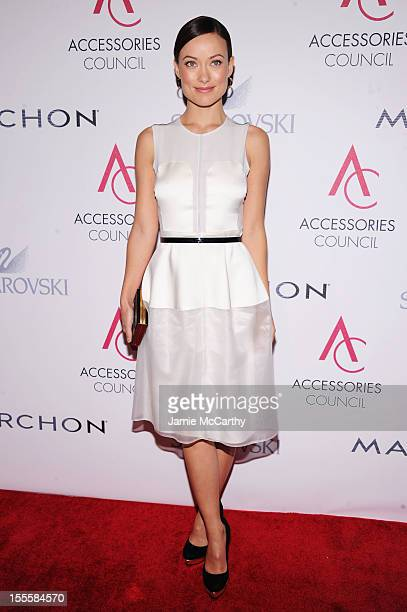 Actress Olivia Wilde attends the 16th Annual ACE Awards presented by the Accessories Council at Cipriani 42nd Street on November 5 2012 in New York...