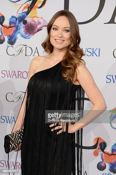 Actress Olivia Wilde attends the 2014 CFDA fashion awards at Alice Tully Hall Lincoln Center on June 2 2014 in New York City