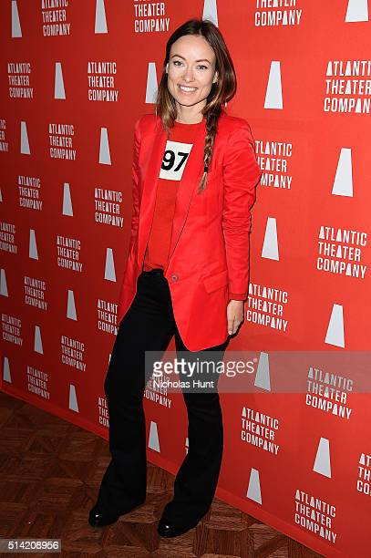 Actress Olivia Wilde attends the 2016 Atlantic Theater Company Actors' Choice Gala at The Pierre Hotel on March 7 2016 in New York City