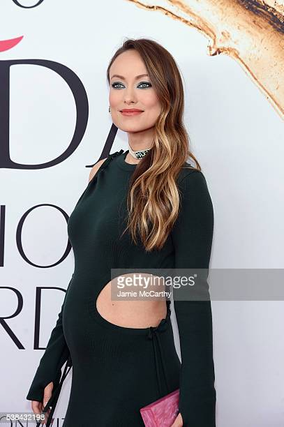 Actress Olivia Wilde attends the 2016 CFDA Fashion Awards at the Hammerstein Ballroom on June 6 2016 in New York City