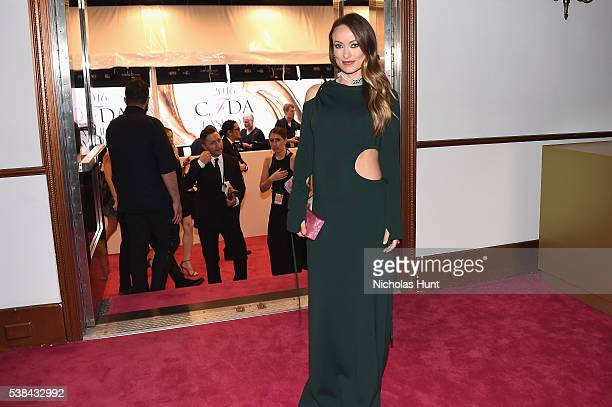 Actress Olivia Wilde attends the 2016 CFDA Fashion Awards at the Hammerstein Ballroom on June 6, 2016 in New York City.