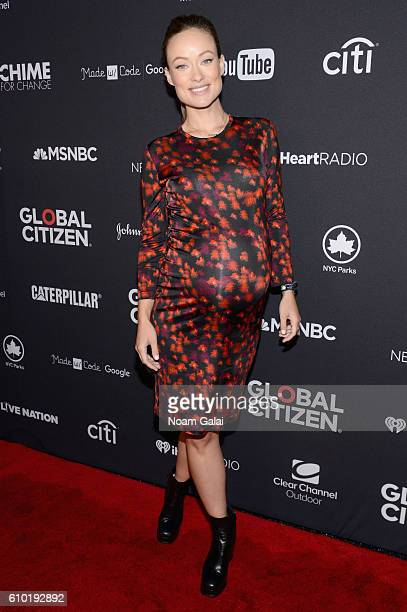 Actress Olivia Wilde attends the 2016 Global Citizen Festival In Central Park To End Extreme Poverty By 2030 at Central Park on September 24 2016 in...