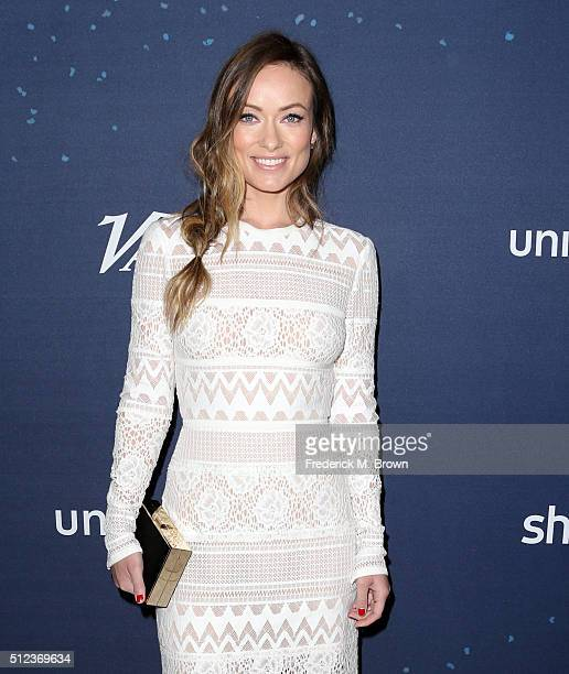 Actress Olivia Wilde attends the 3rd annual unite4humanity at Montage Beverly Hills on February 25 2016 in Beverly Hills California