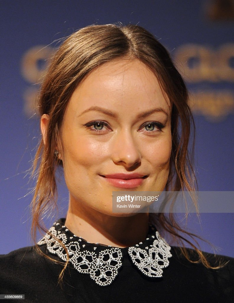Actress Olivia Wilde attends the 71st Golden Globe Awards Nominations Announcement at The Beverly Hilton Hotel on December 12, 2013 in Beverly Hills, California.