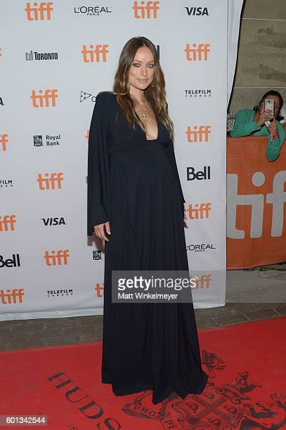 Actress Olivia Wilde attends the Colossal premiere during the 2016 Toronto International Film Festival at Ryerson Theatre on September 9 2016 in...