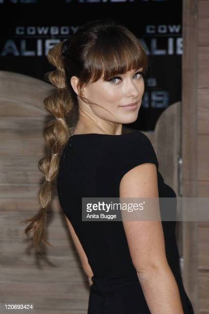 Actress Olivia Wilde attends the 'Cowboys Aliens' premiere at the Cinestar movie theater on August 8 2011 in Berlin Germany