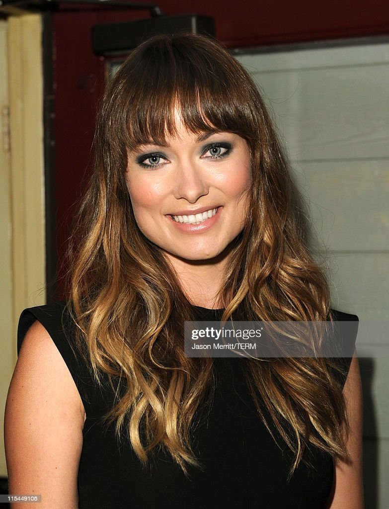 Actress Olivia Wilde attends the Details Magazine/ Ryan Reynolds Party held at Dominick's Restaurant on June 6, 2011 in Los Angeles, California.