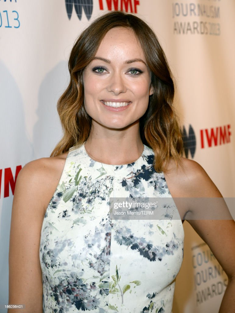Actress Olivia Wilde attends the International Women's Media Foundation's 2013 Courage in Journalism Awards at the Beverly Hills Hotel on October 29, 2013 in Beverly Hills, California.