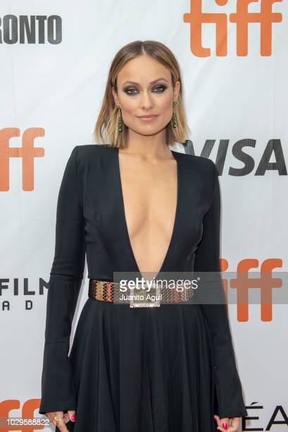 Actress Olivia Wilde attends the 'Life Itself' premiere during the 2018 Toronto International Film Festival at Roy Thomson Hall on September 8 2018...