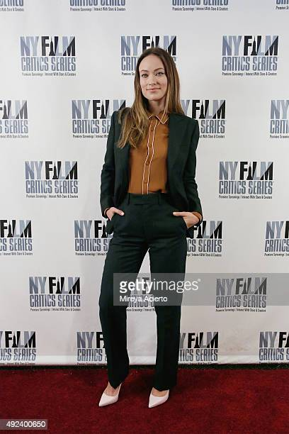 """Actress Olivia Wilde attends the """"Meadowland"""" screening during New York Film Critics Series at AMC Empire 25 theater on October 12, 2015 in New York..."""